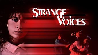Strange Voices (1987)